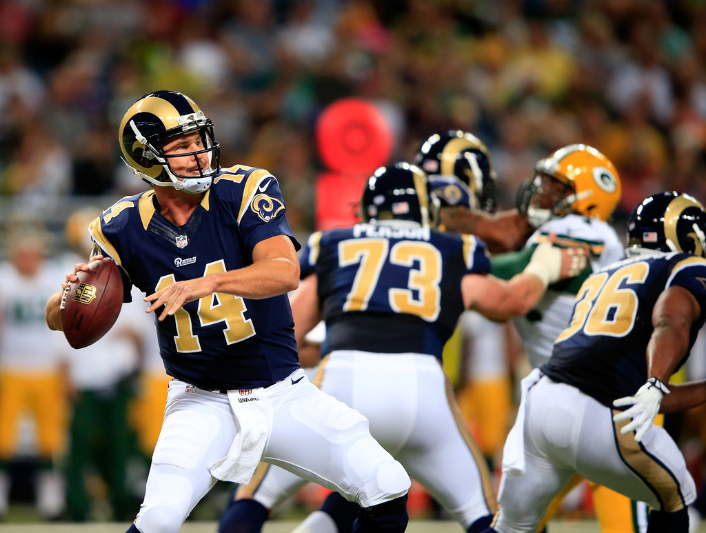 Shaun Hill Pictures Green Bay Packers V St Louis Rams
