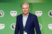Former Berlin mayor Klaus Wowereit poses for a picture at the green carpet prior to the DFB Cup Final between Bayern Muenchen and Borussia Dortmund at Olympiastadion on May 21, 2016 in Berlin, Germany.