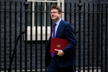 Greg Clark Theresa May Hosts Brexit Cabinet