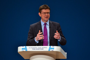 Greg Clark The Conservative Party Conference 2016 - Day Two