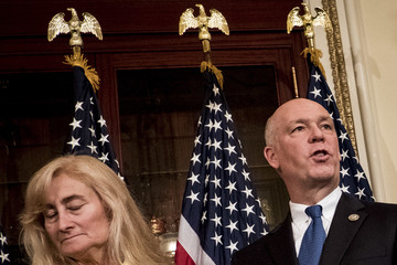 Greg Gianforte Controversial Montana Republican Greg Gianforte Is Ceremonially Sworn in as Congressman by Speaker Ryan