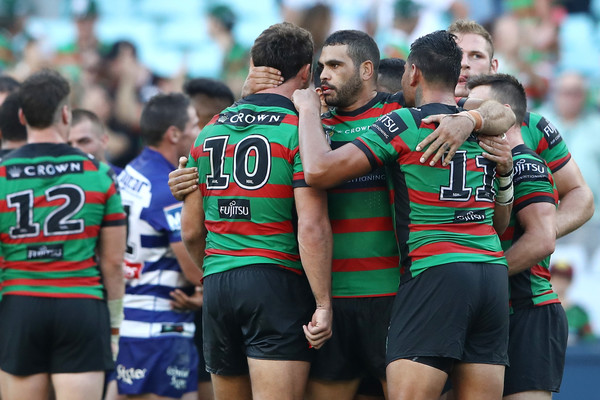 NRL Rd 4 - Rabbitohs Vs. Bulldogs [sports,team sport,team,player,rugby union,rugby league,rugby,ball game,rugby player,tournament,greg inglis,sam burgess,anz stadium,sydney,south sydney rabbitohs,canterbury bulldogs,rd 4 - rabbitohs,nrl,afl,match]