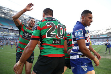 Greg Inglis NRL Rd 4 - Rabbitohs Vs. Bulldogs