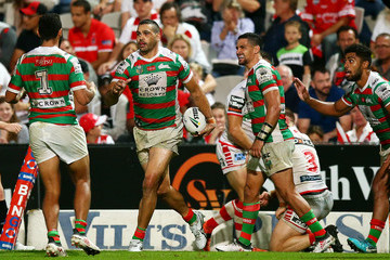 Greg Inglis NRL Rd 5 - Dragons v Rabbitohs