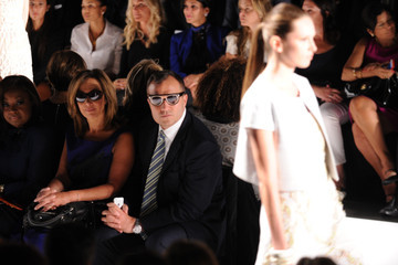 Greg Kelly Dennis Basso - Front Row - Mercedes-Benz Fashion Week Spring 2015