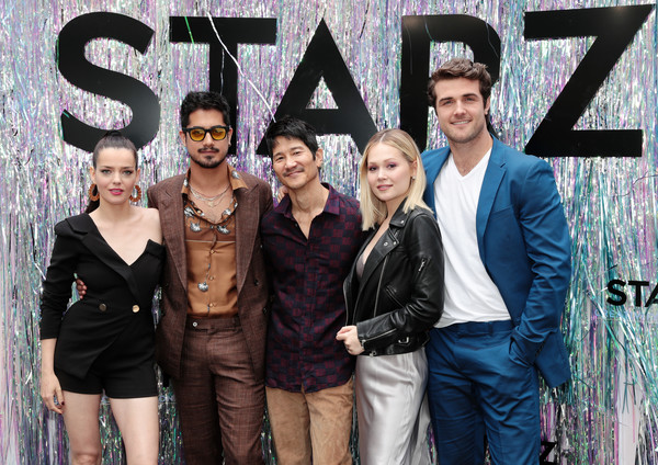 Starz FYC 2019 — Where Creativity, Culture, And Conversations Collide [fyc 2019 -- where creativity culture,social group,fashion,event,font,photography,performance,style,team,art,gregg araki,kelli berglund,roxane mesquida,avan jogia,beau mirchoff,conversations collide,l-r,starz,starz fyc]