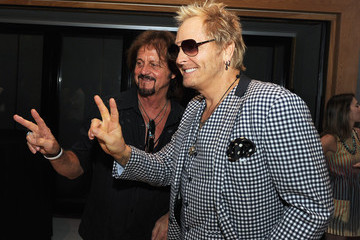 Gregg Rolie John Varvatos and Ringo Starr Press Conference