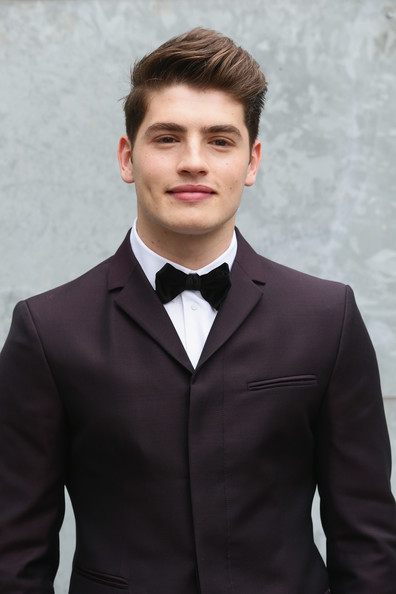 Gregg Sulkin has officially moved on from his past love as he was