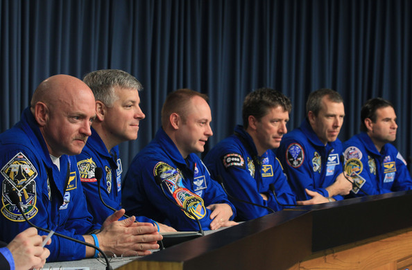 STS-134 Astronauts Speak To Media About Upcoming Shuttle Launch