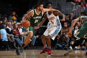 Greivis Vasquez Milwaukee Bucks v Denver Nuggets