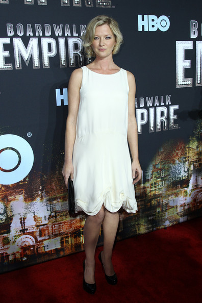 "Gretchen Mol Actress Gretchen Mol attends the premiere of ""Boardwalk Empire"" at the Ziegfeld Theatre on September 15, 2010 in New York City."
