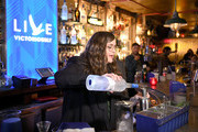 Grey Goose takes over New York happy hour to launch Live Victoriously on April 16, 2019 at Extra Fancy Bar in New York City.