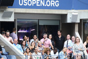 Sara Sampaio, Taraji P. Henson, Kelvin Hayden, Betty Gilpin, Cosmo Pfeil, and Camille Kostek attend as Grey Goose toasts to the 2019 US Open at Arthur Ashe Stadium on September 07, 2019 in New York City.