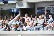 Ashley Benson, Cara Delevingne, Sara Sampaio, Taraji P. Henson, Kelvin Hayden, Betty Gilpin, Camille Kostek and Kelly Oubre Jr. attend as Grey Goose toasts to the 2019 US Open at Arthur Ashe Stadium on September 07, 2019 in New York City.
