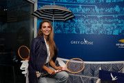 Nina Senicar attends the Grey Goose Suite on Day Fourteen of the 2018 US Open at the Arthur Ashe Stadium on September 9, 2018 in the Flushing neighborhood of the Queens borough of New York City.