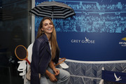 Nina Senicar at the Grey Goose Suite on Day Thirteen of the 2018 US Open at the Arthur Ashe Stadium on September 9, 2018 in the Flushing neighborhood of the Queens borough of New York City.