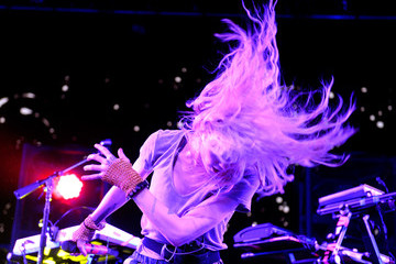 Grimes 2016 Coachella Valley Music and Arts Festival - Weekend 2 - Day 2