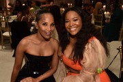 Mara Brock Akil and Karleen Roy attend The Grit Before The Gram Awards at The West Hollywood EDITION on January 23, 2020 in West Hollywood, California.