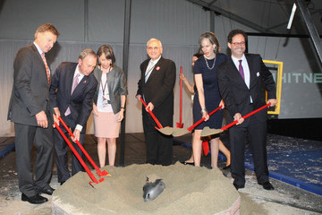 Kate Levin Groundbreaking For The Whitney Museum's New Building