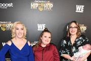 "(L-R) June Shannon, Alana Thompson,  Lauryn 'Pumpkin' Shannon and Ella Grace Efird attend ""Growing Up Hip Hop Atlanta"" season 2 premiere party at Woodruff Arts Center on January 9, 2018 in Atlanta, Georgia."