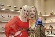 (L-R) Rosson Crow and Paige Powell attend Gucci's celebration of the Release of Paige Powell In LA on May 16, 2019 in Beverly Hills, California.