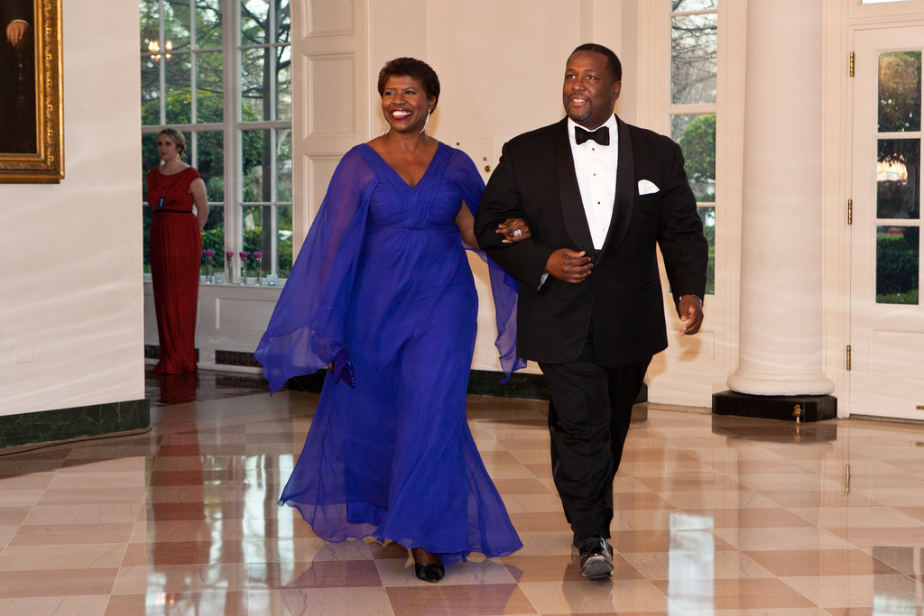 Gwen Ifill Pictures  Guests Arrive For White House State Dinner For