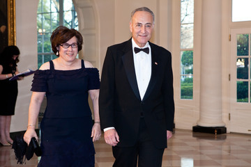 Iris Weinshall Guests Arrive For White House State Dinner For UK Prime Minister Cameron
