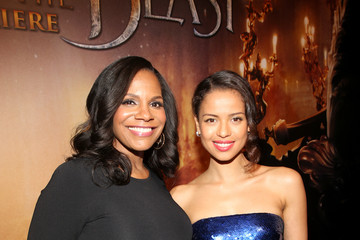 Gugu Mbatha-Raw The World Premiere Of Disney's Live-Action 'Beauty And The Beast'