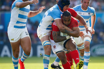 Guido Petti Pagadizaval Argentina v Tonga - Group C: Rugby World Cup 2015