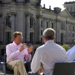 Rainald Becker Guido Westerwelle Traditional Summer Interview