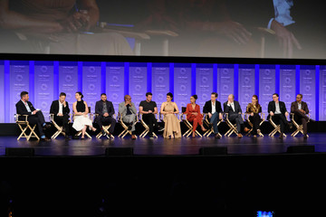 Guillermo Diaz Katie Lowes The Paley Center for Media's 34th Annual PaleyFest Los Angeles - 'Scandal' - Inside