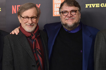 Guillermo del Toro Various Celebrities Attend 'Five Came Back' World Premiere