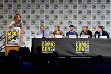 Gustaf Skarsgard SDCC Panel With the Cast and Creator of 'Vikings'
