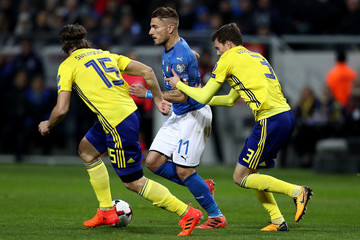 Gustav Svensson Sweden v Italy - FIFA 2018 World Cup Qualifier Play-Off: First Leg