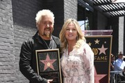 Lori Fieri and Chef Guy Fieri who was honored with the 2,664th Star on the Hollywood Walk of Fame Star, in Hollywood, California.