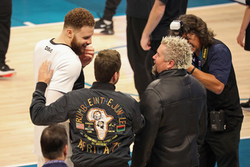 Guy Fieri Celebrities Attend The 68th NBA All-Star Game - Inside