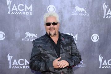 Guy Fieri Arrivals at the Academy of Country Music Awards — Part 2