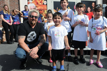 Guy Fieri Celebrity Chef Guy Fieri Signs Off on His New Out of This World Burger and Sandwich Menu at Planet Hollywood Observatory
