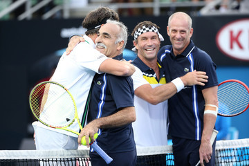 Guy Forget 2016 Australian Open - Day 6