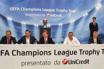 Guy-Laurent Epstein UEFA Champions League Trophy Tour 2012/13