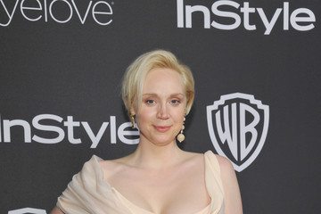 Gwendoline Christie The 2017 InStyle and Warner Bros. 73rd Annual Golden Globe Awards Post-Party - Red Carpet