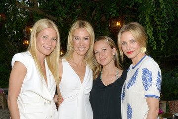 Gwyneth Paltrow Jennifer Meyer Celebrating The launch Of The Body Doesn't Lie By Vicky Vlachonis