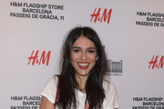 Cristina Brondo poses during a photocall for the new H&M flagship store opening on February 1, 2017 in Barcelona, Spain.