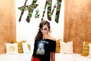 Taylor Hill at H&M Loves Coachella Tent - Coachella 2017: Every Can't-Miss Celebrity Outfit
