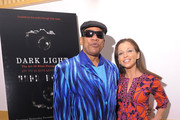 """Film subject, pianist and photographer Henry Butler and Wendy Diamond attend the HBO Documentary Screening Of """"Dark Light"""" at Lighthouse International Conference Center on November 8, 2010 in New York City."""