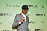 """Actor Ashton Sanders attends HBO's """"Native Son"""" screening at Guggenheim Museum on April 1, 2019 in New York City."""