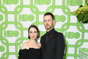 Zoe Lister-Jones (L) and Colin Hanks attend HBO's Official Golden Globe Awards After Party at Circa 55 Restaurant on January 6, 2019 in Los Angeles, California.