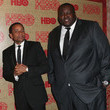 Hill Harper and Quinton Aaron Photos