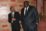 Hill Harper and Quinton Aaron Photos Photo