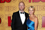 Matt Walsh and Morgan Walsh attend HBO's Post Emmy Awards Reception at The Plaza at the Pacific Design Center on September 17, 2017 in Los Angeles, California.
